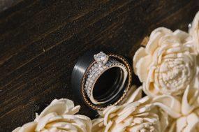 Phoenix wedding photograph of wedding rings