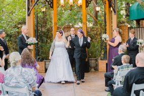 Phoenix wedding photograph of same sex couple at ceremony