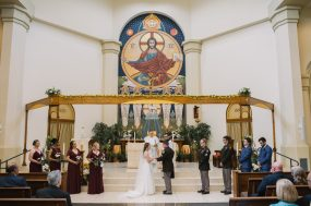 Phoenix wedding photograph of Greek church ceremony