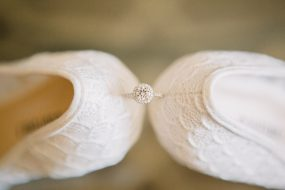 Phoenix wedding photography of bride's ring