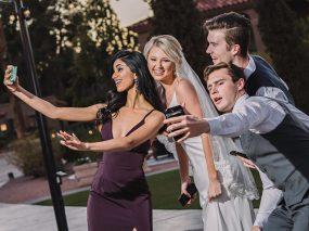 Phoenix Wedding Photography of wedding party on wedding day