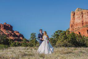 Phoenix Wedding Photography of couple on wedding day