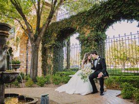 Phoenix Wedding Photography of couple laughing on wedding day