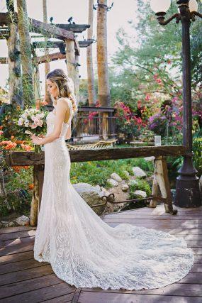 Phoenix Wedding Photography of bride on her wedding day