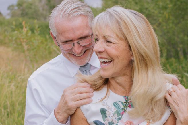 Diane + Marty | Denver Colorado Backyard Micro Wedding