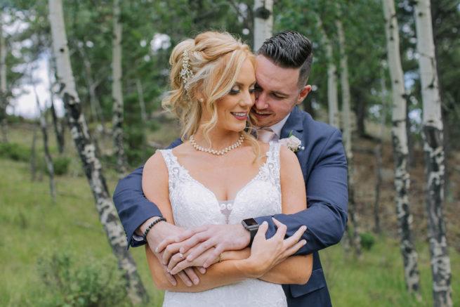 Laura + Dustin | Deer Creek Valley Ranch Bailey Colorado Wedding