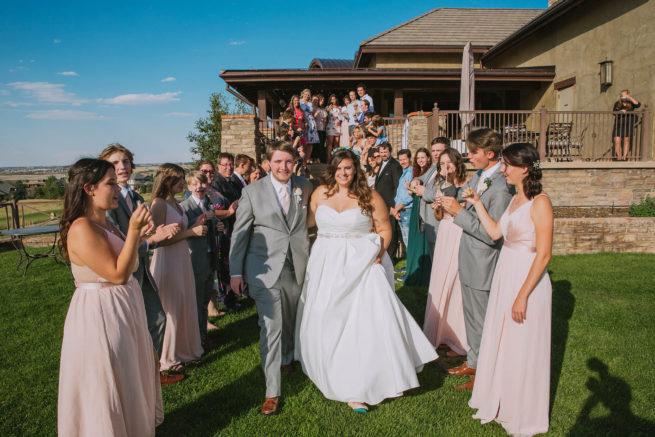 Jesse + Luke | Littleton Catholic Church & Pradera Golf Club Parker Wedding