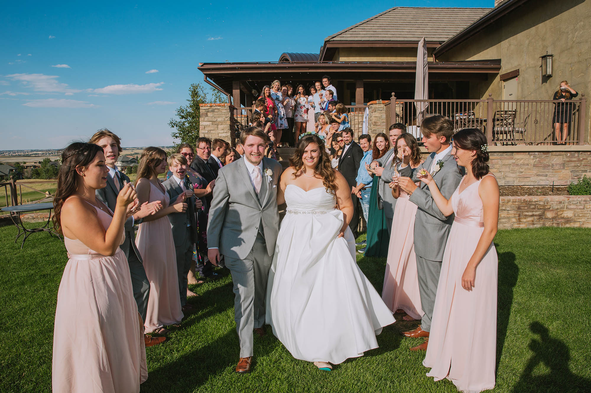 Jesse + Luke | Littleton Catholic Church & Pradera Golf Club Parker Wedding