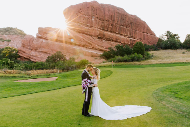 Emily + Joshua | Morrison, Colorado Wedding at Red Rocks Country Club