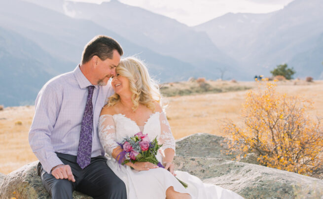 Shannon + Mitch | The Stanley in Estes Park  Fall Elopement