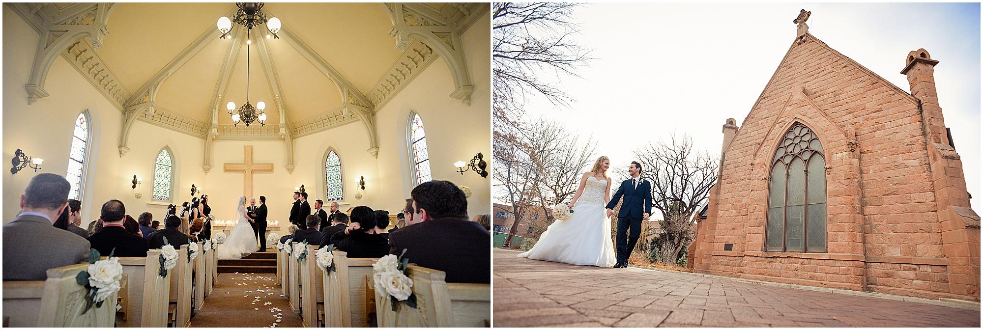 Evans Memorial Chapel Wedding Photos
