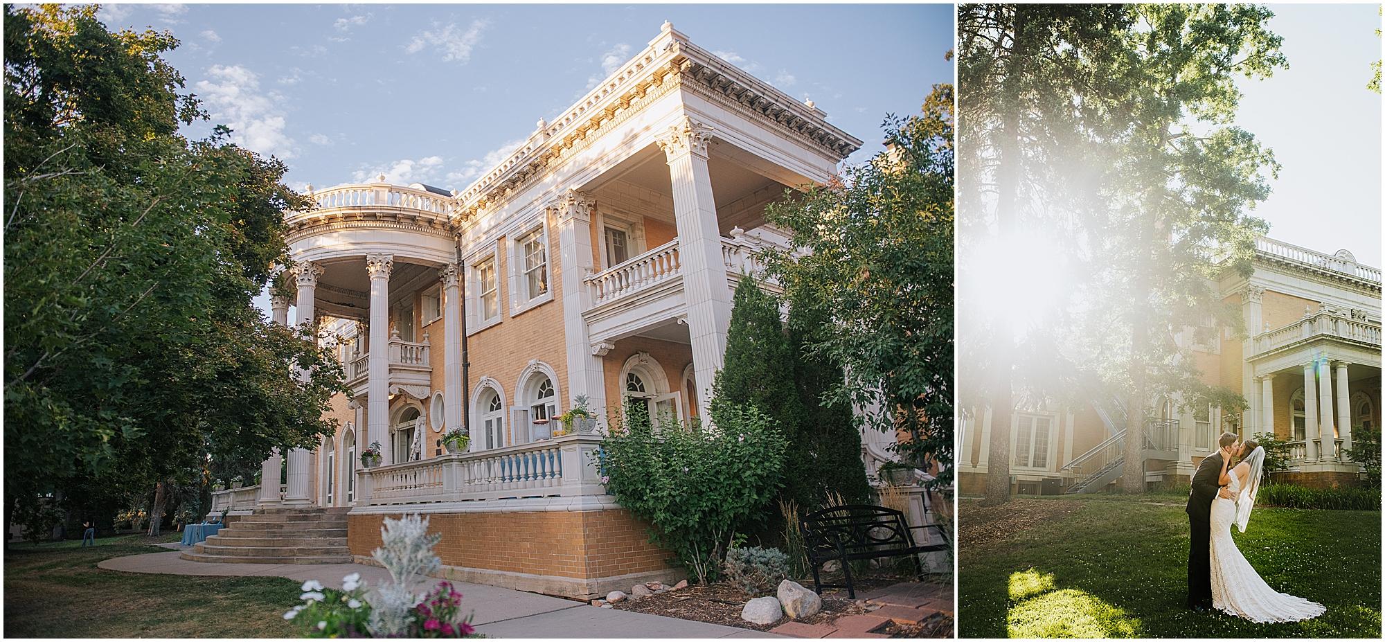 Grant Humphreys Mansion Wedding Photography