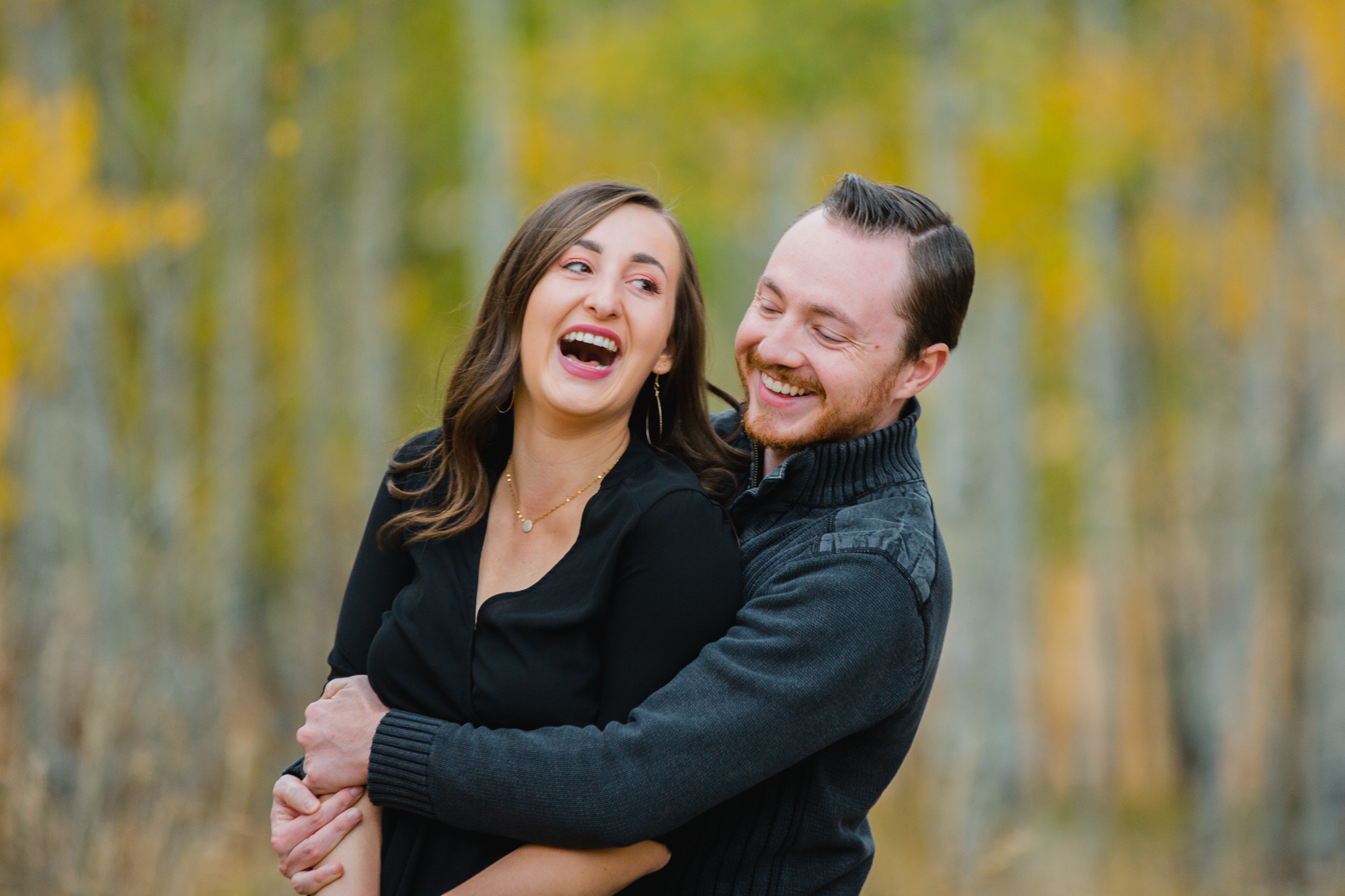 Josh + Lily | Denver Fall Engagement by Brittany