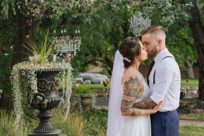 Kristen + Kyle Micro Wedding at Lionsgate in Lafayette Colorado